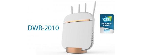 Компания D-Link представила новый маршрутизатор DWR-2010 на CES 2019