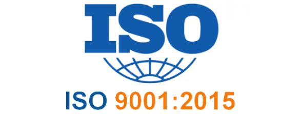 Наша компания сертифицирована по международному стандарту ISO 9001:2015
