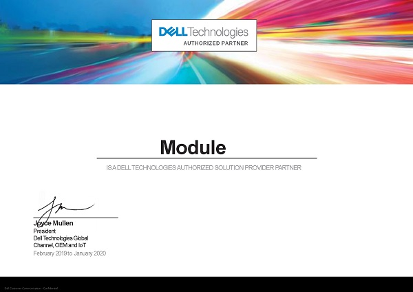 Industrial Module - авторизованный партнер Dell