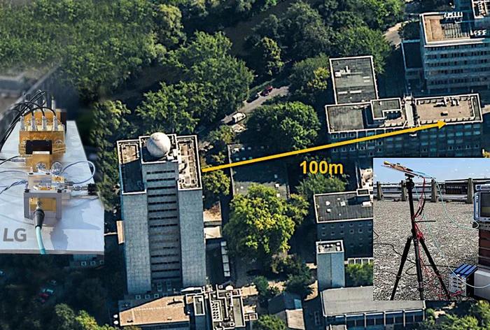 сигнал 6G передается на расстоянии до 100 метров