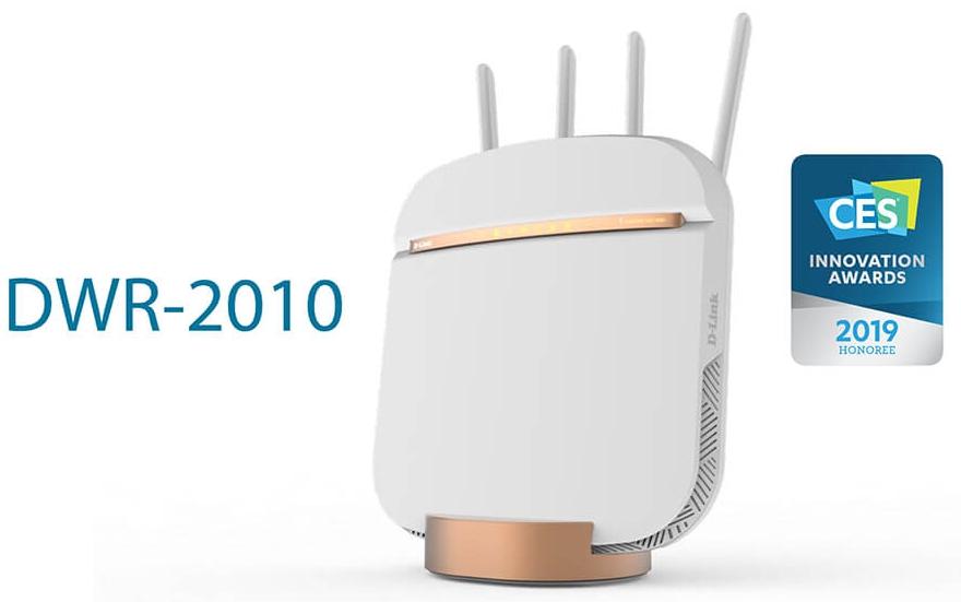 маршрутизатор DWR-2010 - новинка CES2019